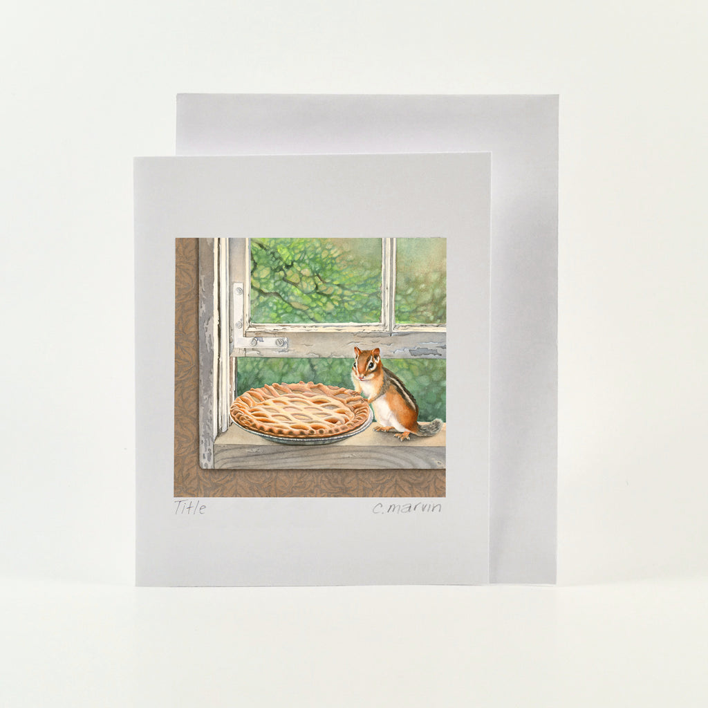 Cheeks and the Sugar Pie - Wholesale Art Cards