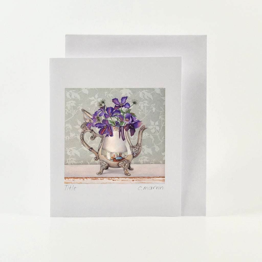 Clematis - Wholesale Art Cards