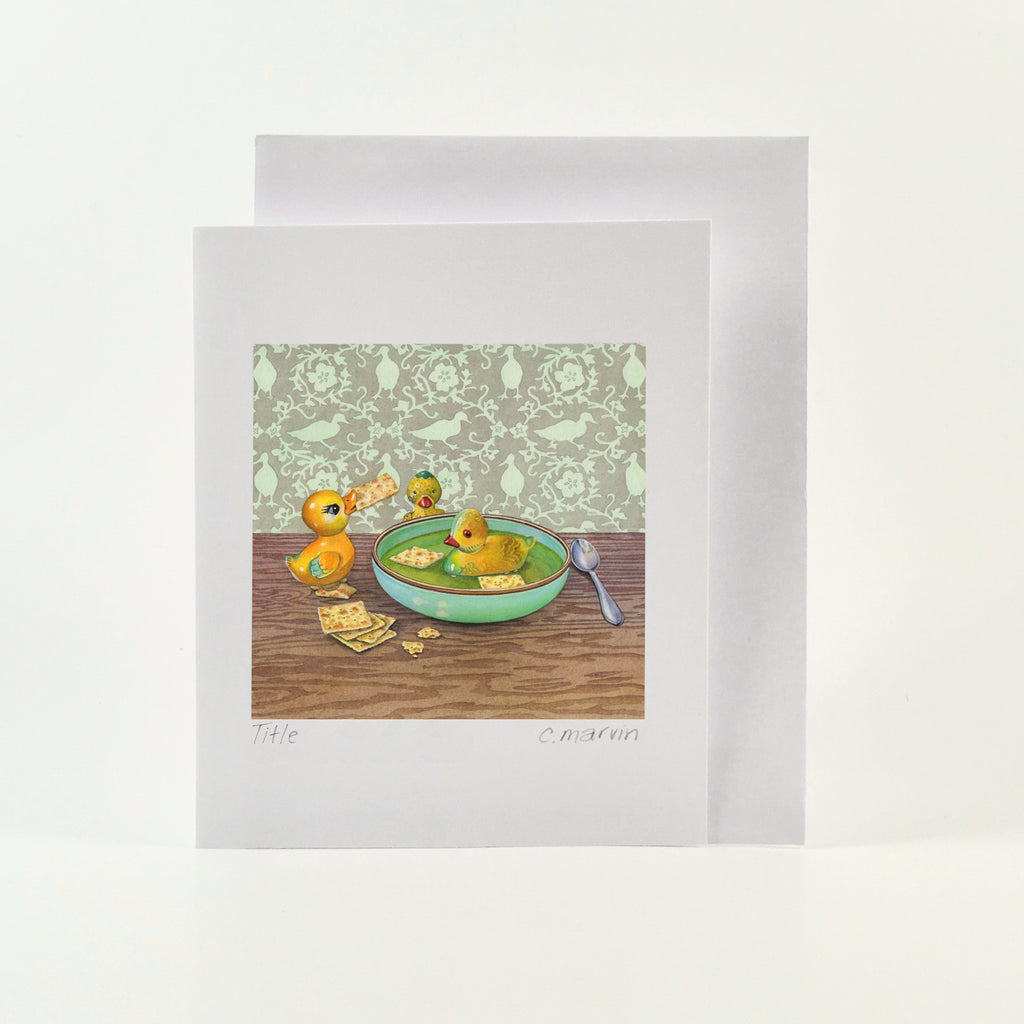 Crackers for Quackers - Wholesale Art Cards
