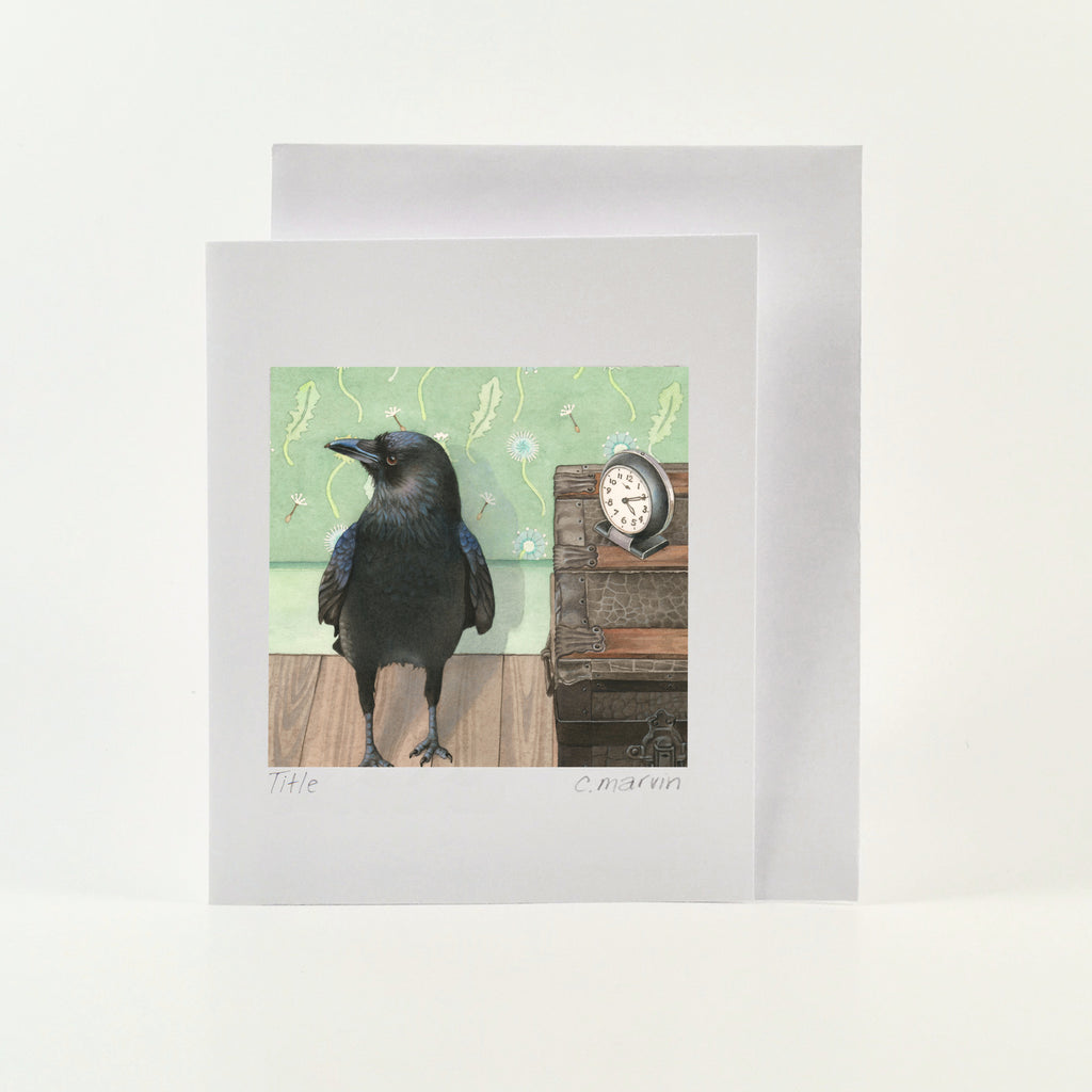 Does Not Watch the Clock - Wholesale Art Cards