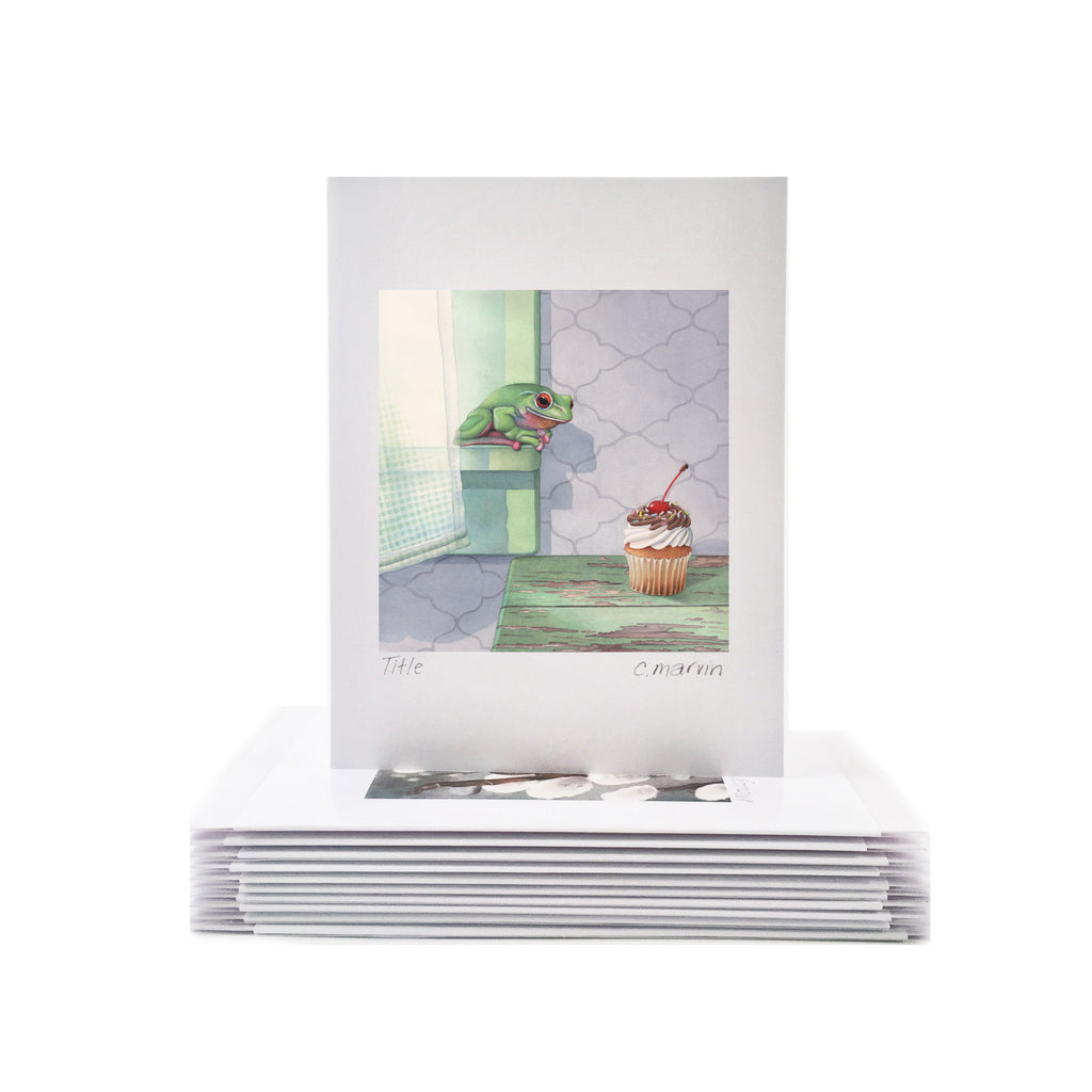 Window Cards set of 10