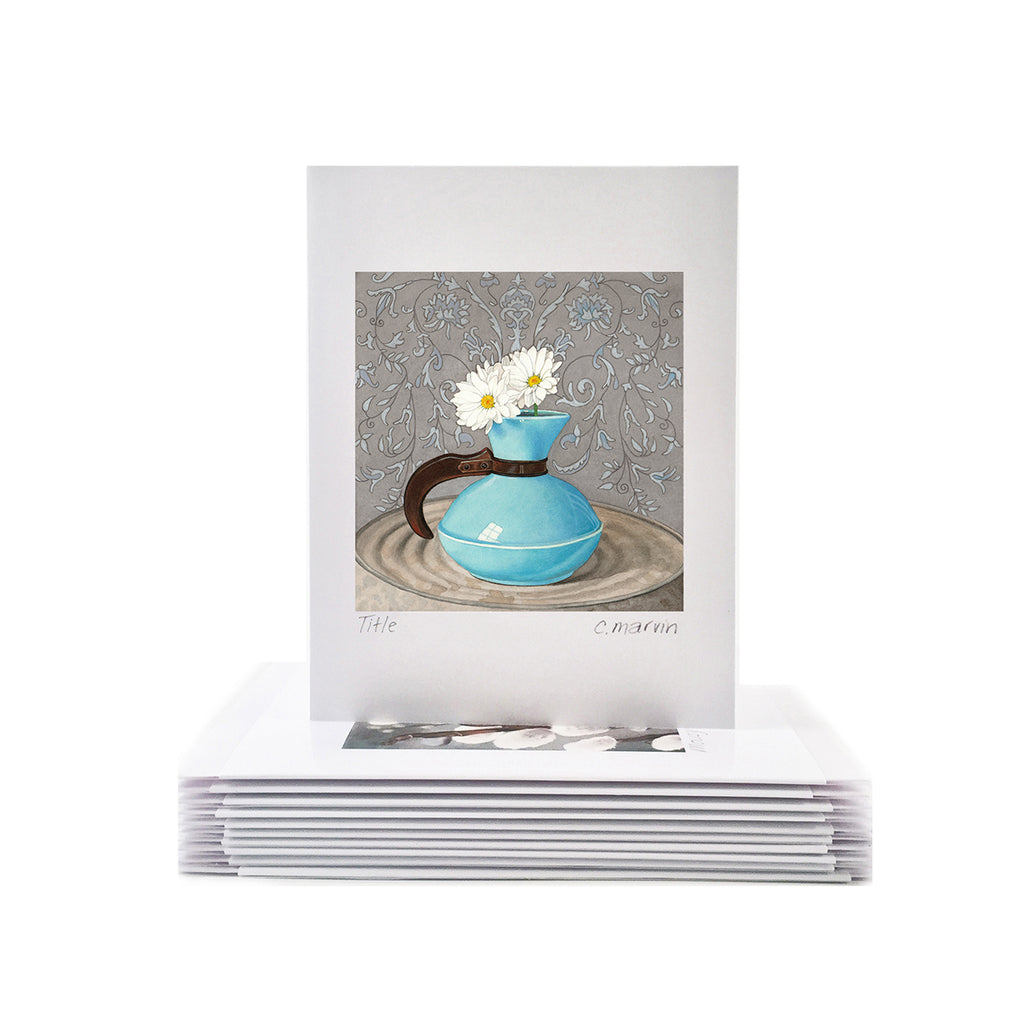Daisies Art Cards set of 10