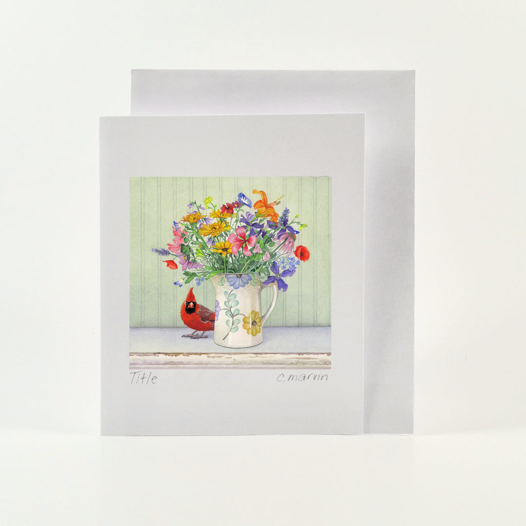 The Brightest Bouquet - Wholesale Art Cards