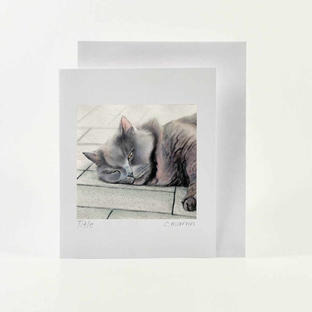 Bruce - Wholesale Art Cards