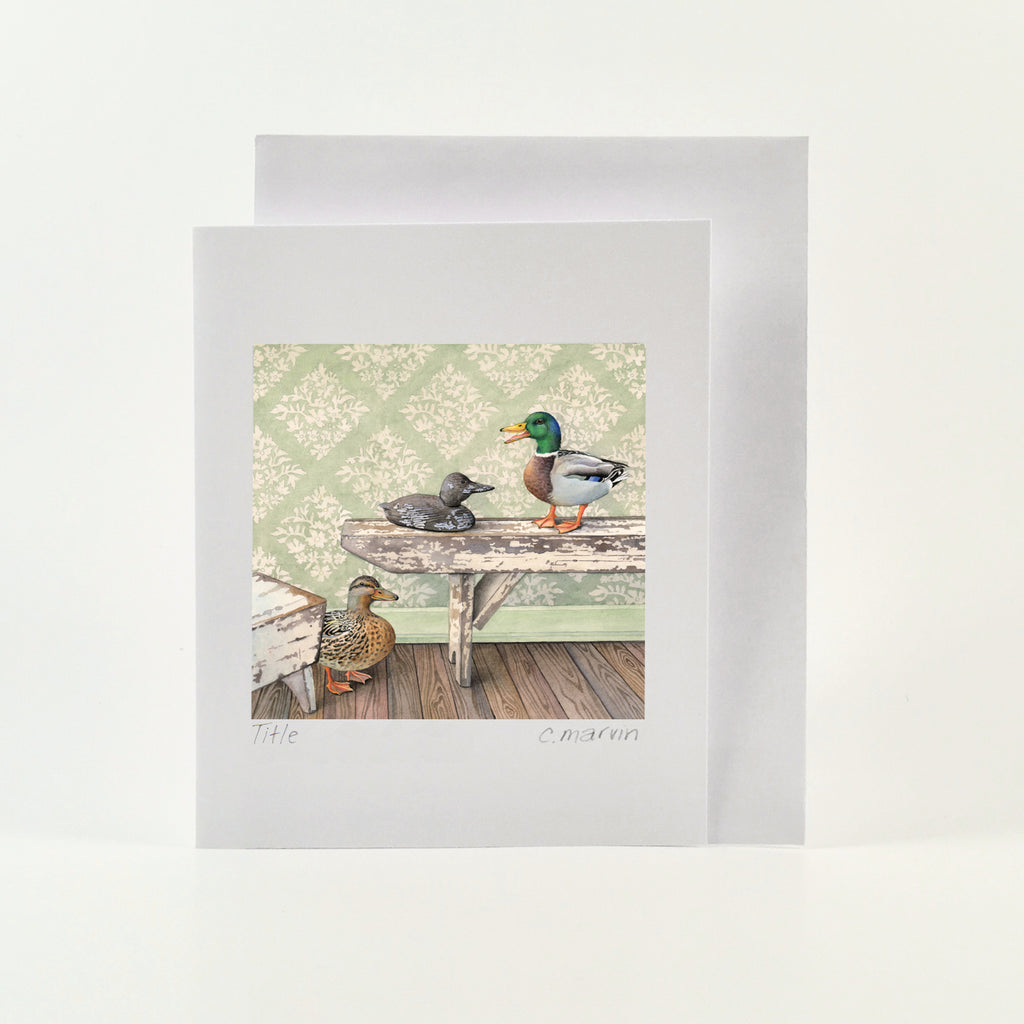 The Decoy - Wholesale Art Cards