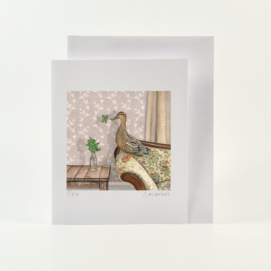 Lucky Duck - Wholesale Art Cards