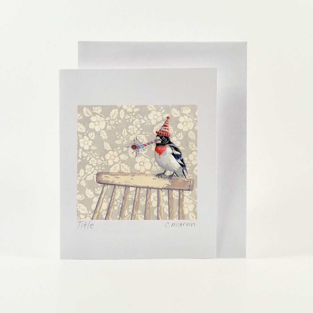 Cheerful Birds set of 10