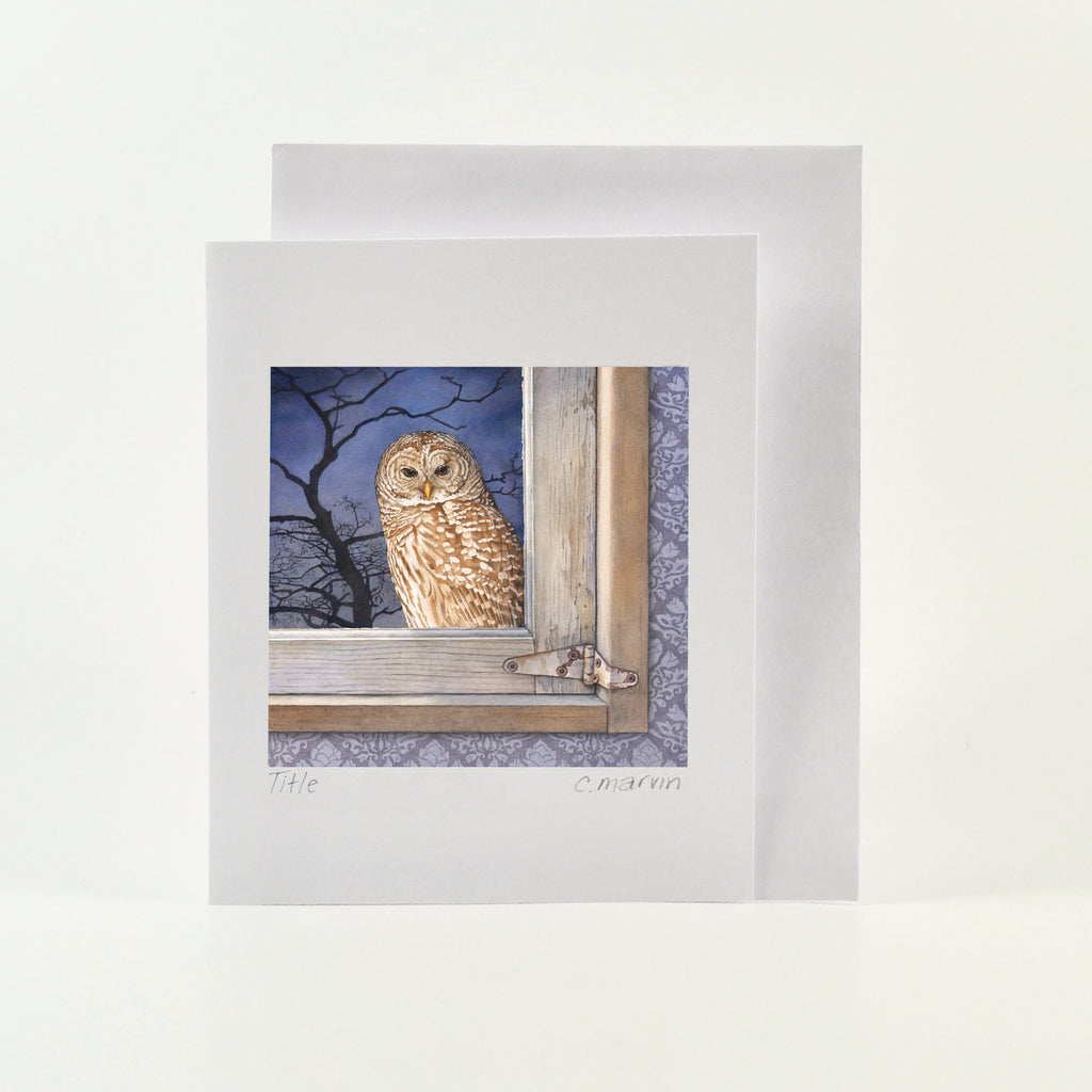 The Observer - Wholesale Art Cards