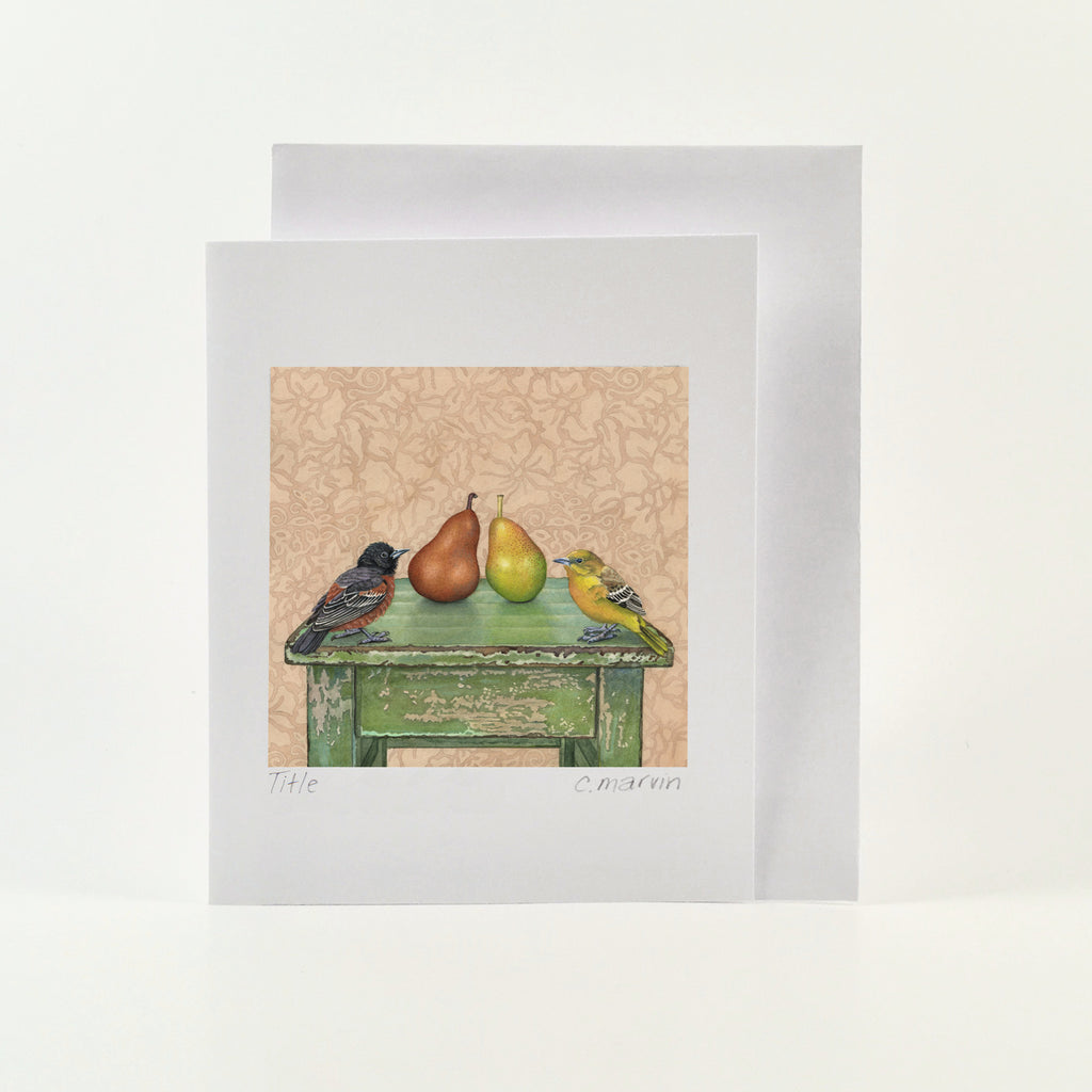 The Perfect Pair - Wholesale Art Cards