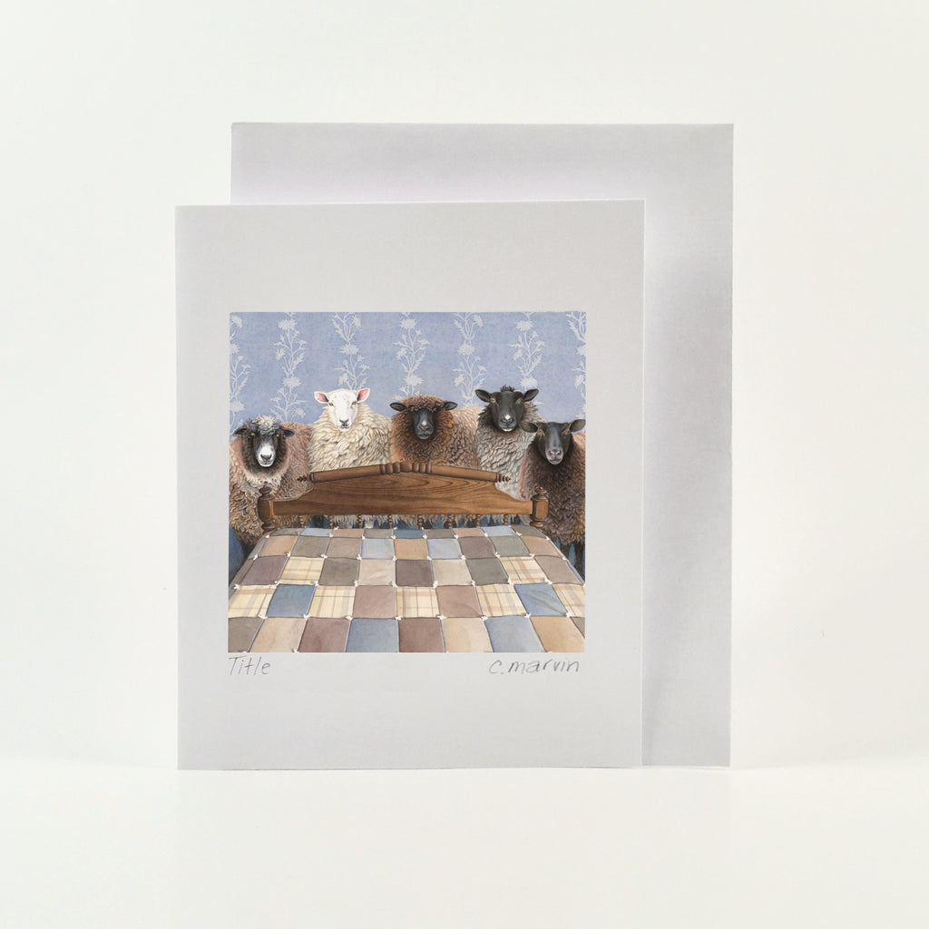 Ready to be Counted - Wholesale Art Cards