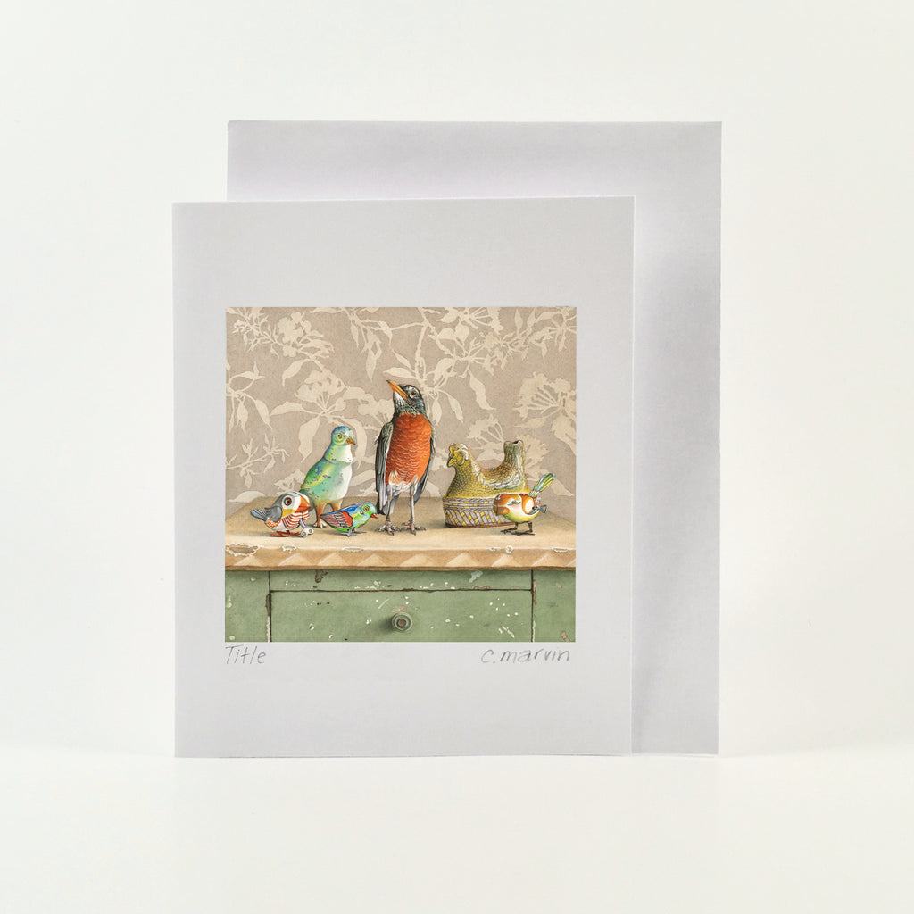 The Real Sir Peeps - Wholesale Art Cards