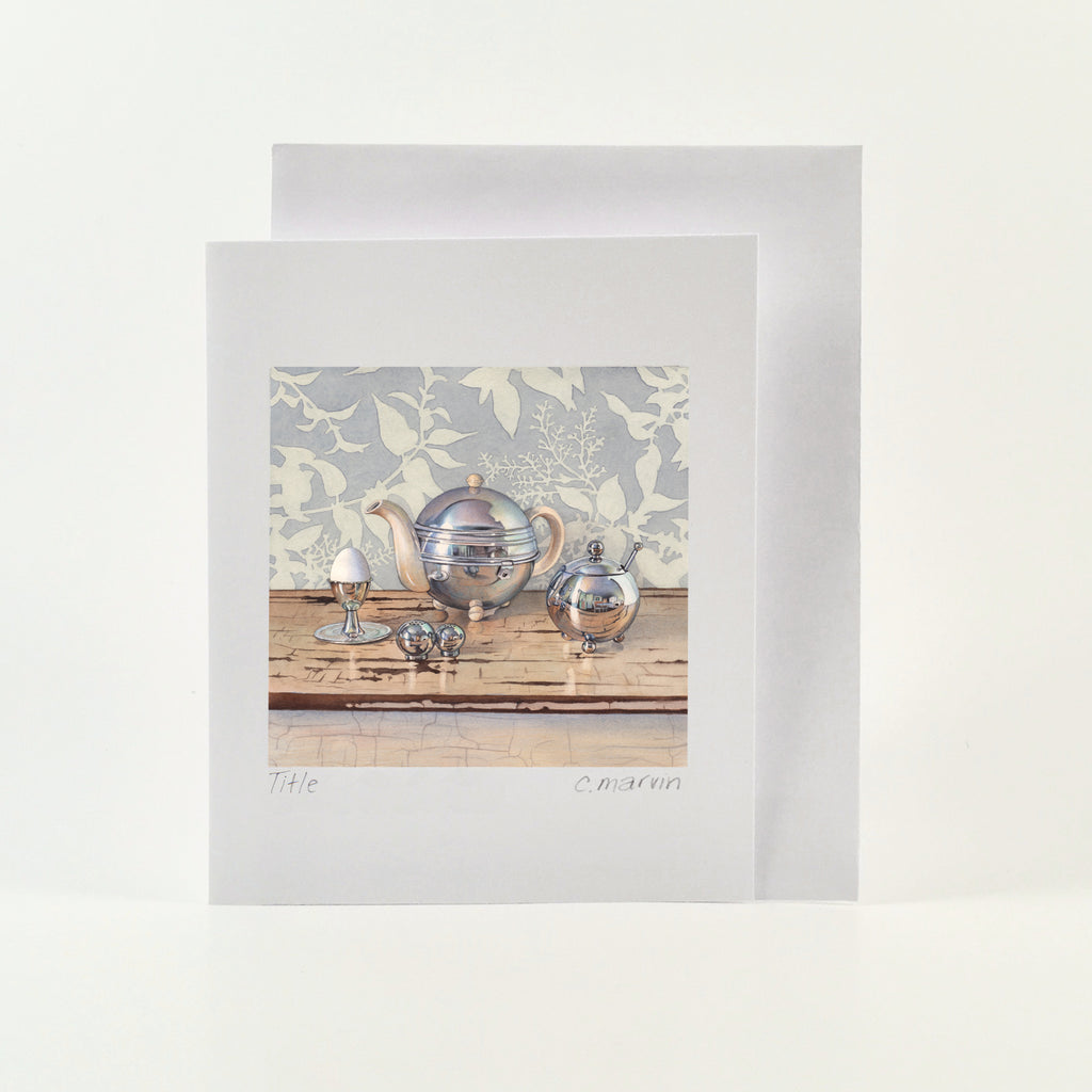 Silver Breakfast - Wholesale Art Cards