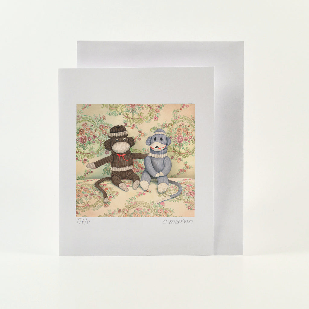 Sock Monkeys - Wholesale Art Cards