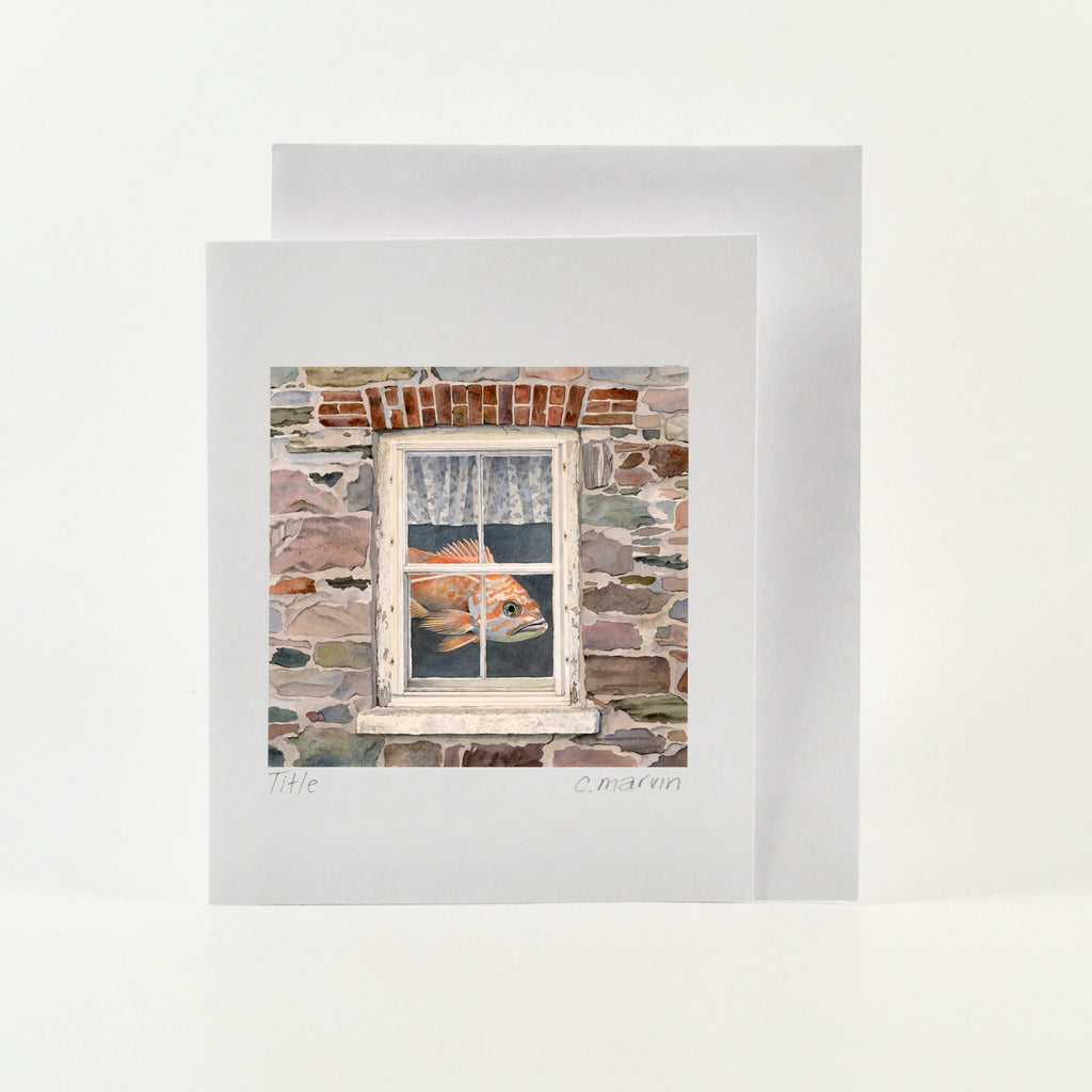 That Same Old Dream - Wholesale Art Cards