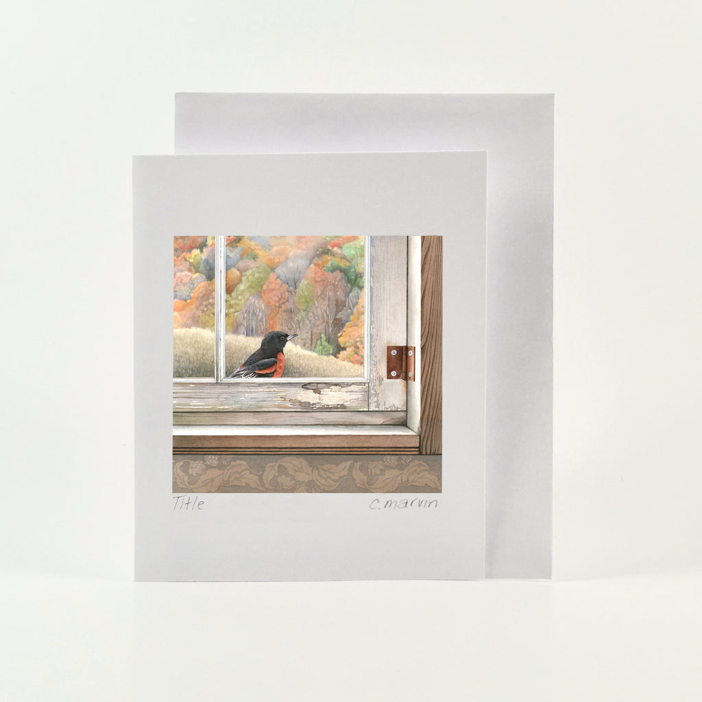 Time Flies - Wholesale Art Cards