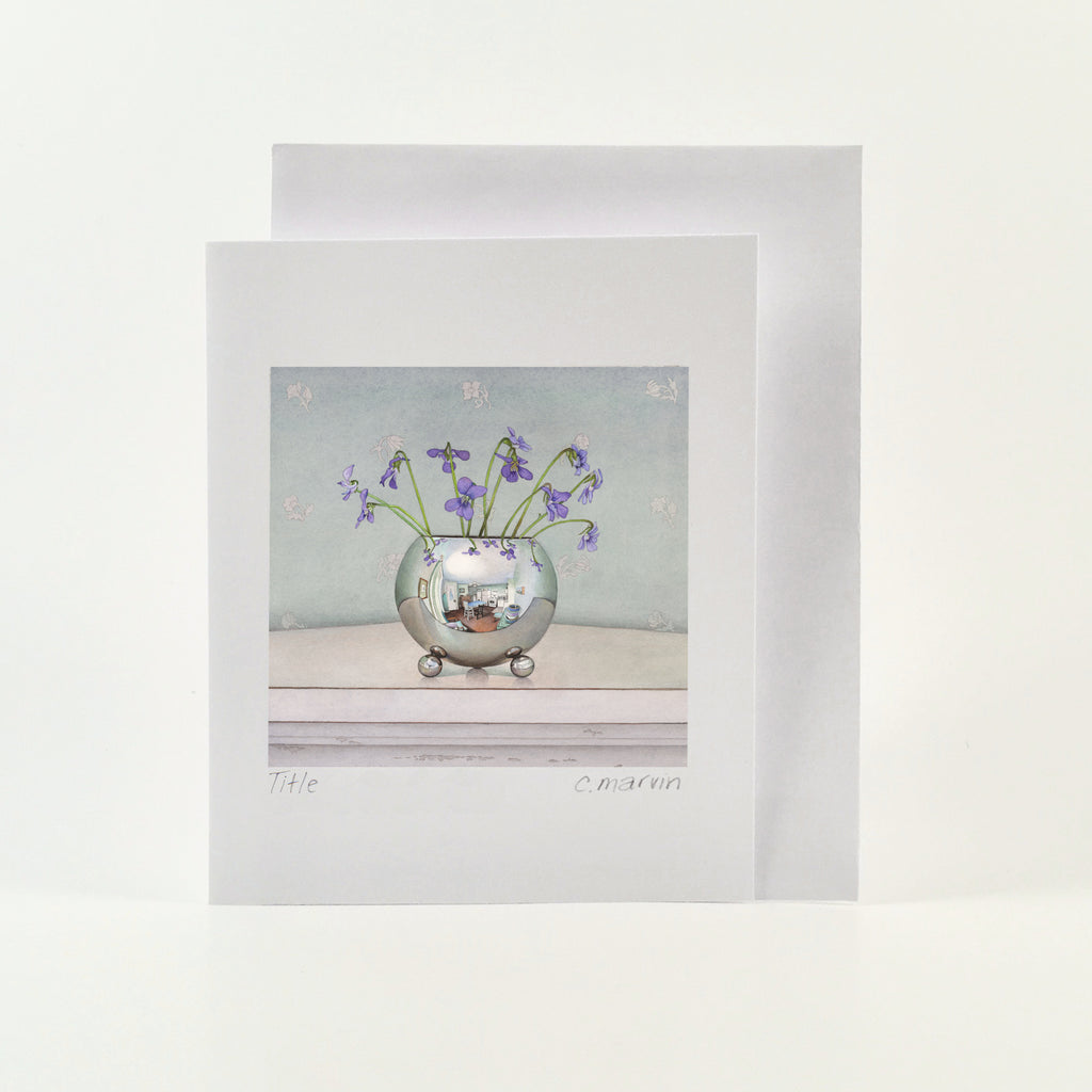 Violets - Wholesale Art Cards