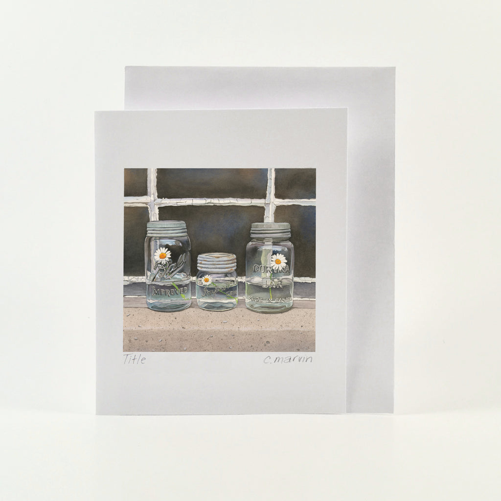 We Three - Wholesale Art Cards