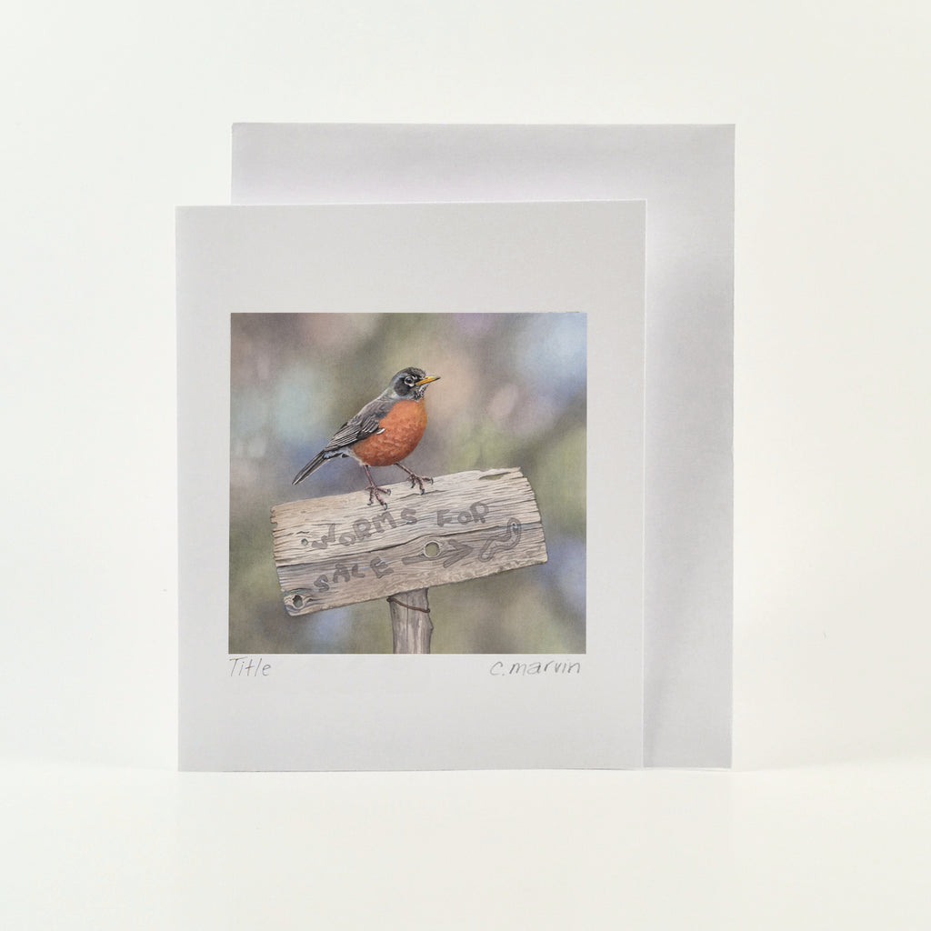 Worms for Sale - Wholesale Art Cards