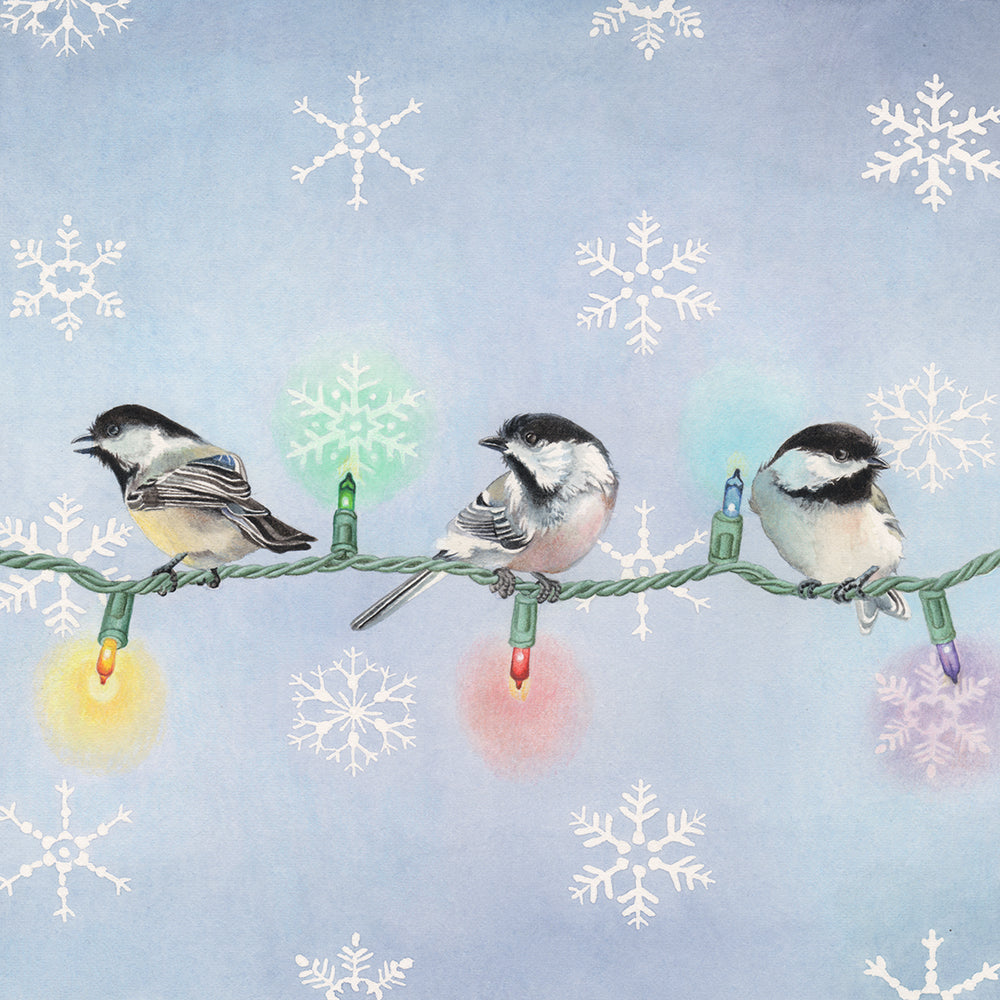 Chickadees - Winter and Christmas- Gallery