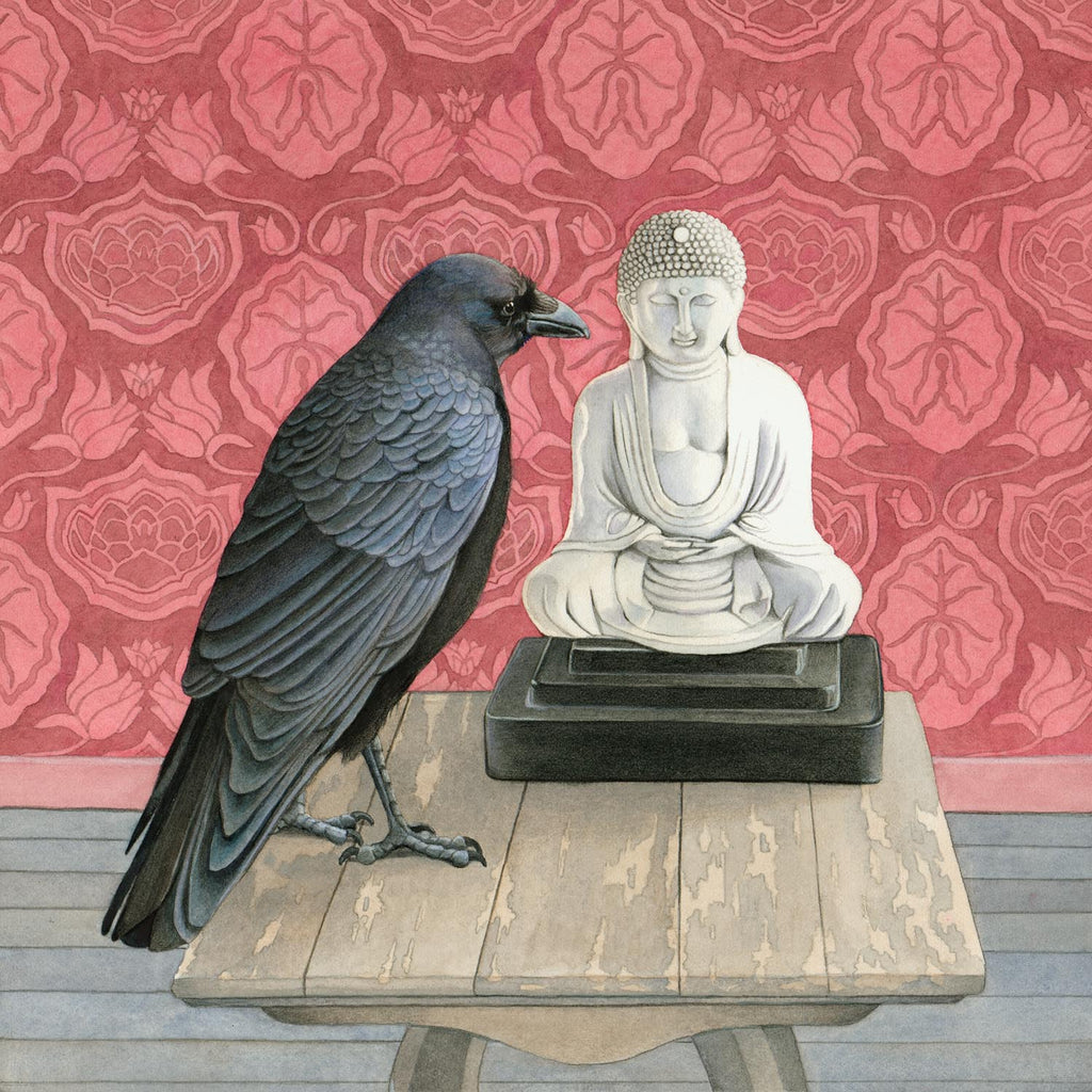 Crow Consults the Buddha