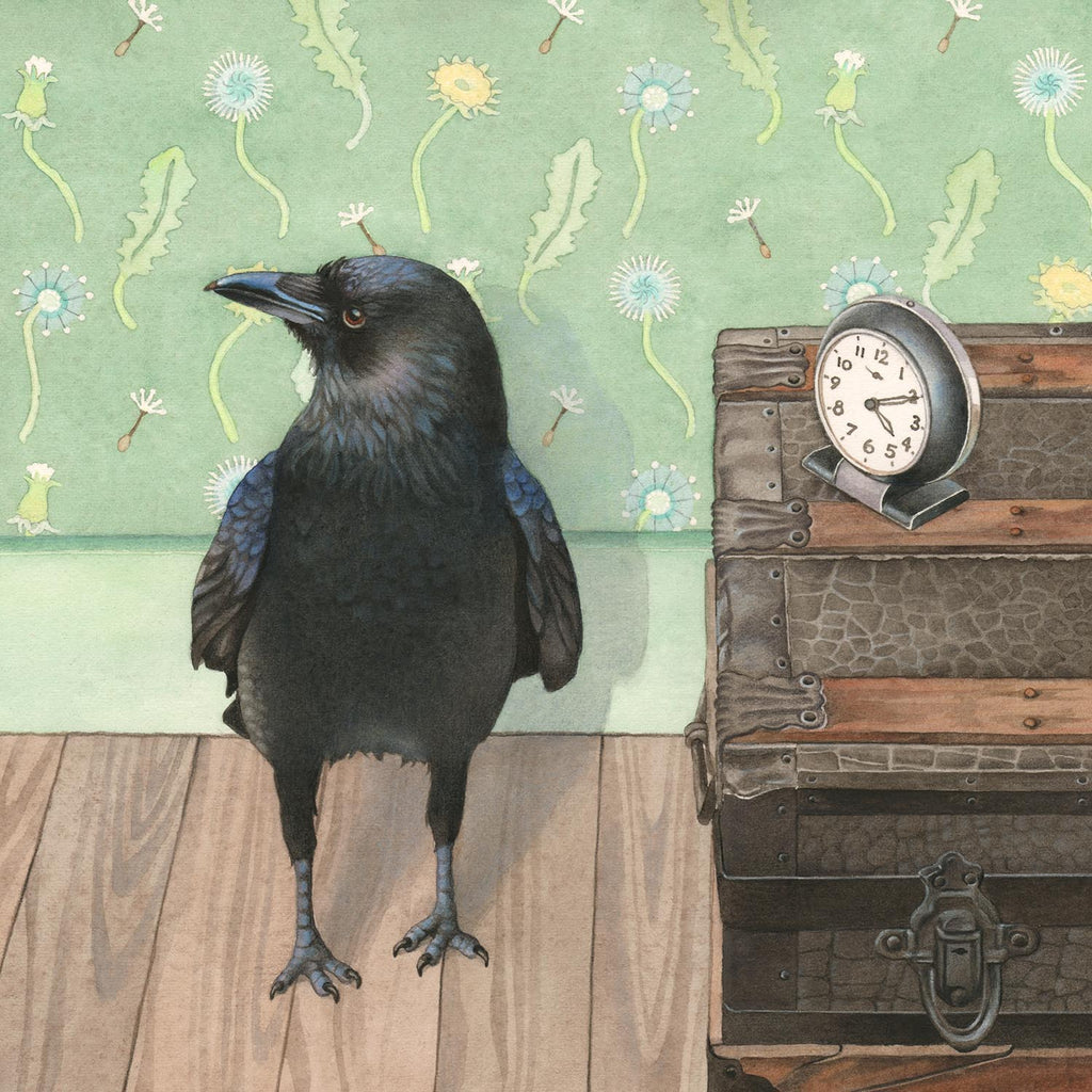 Crow Does Not Watch the Clock