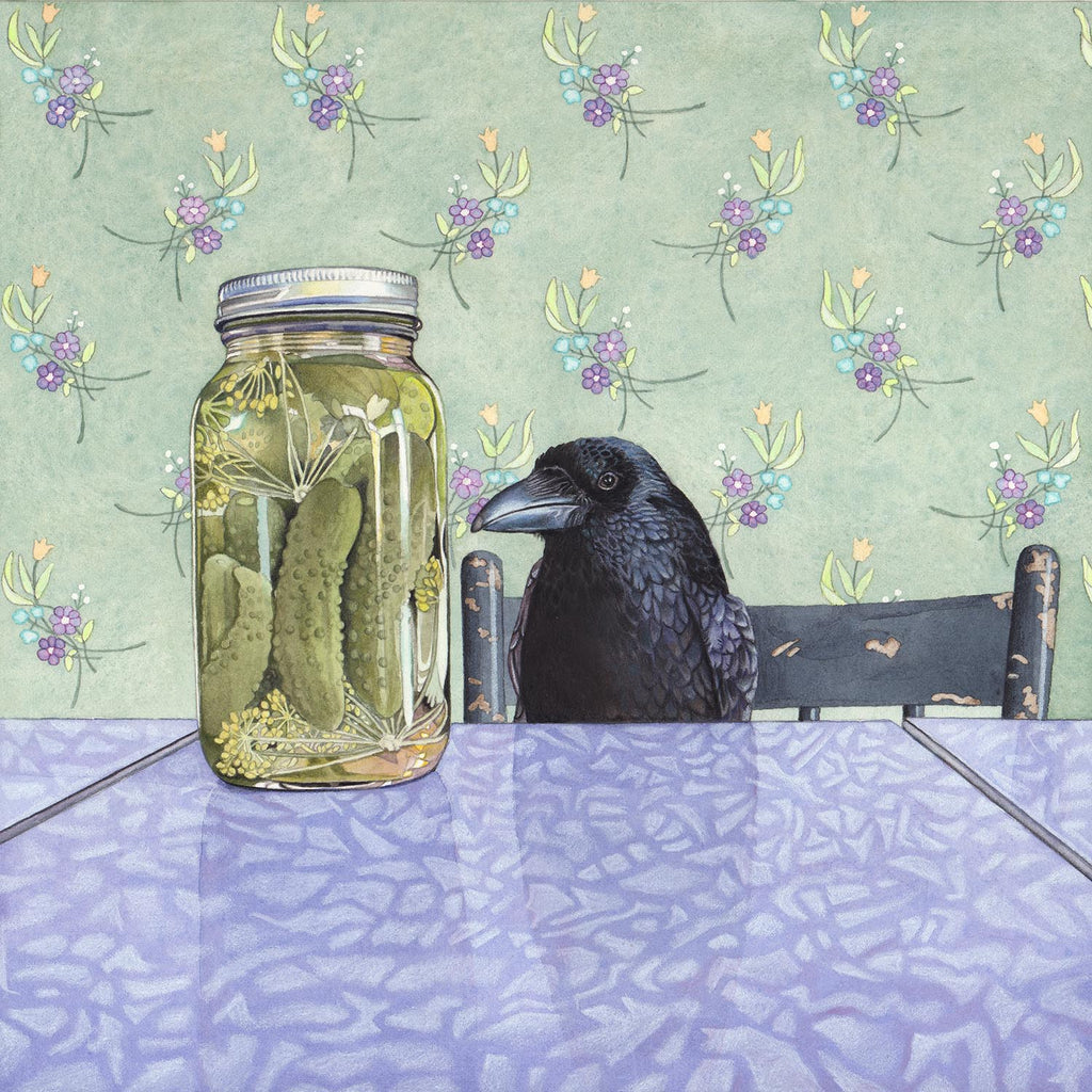 Crow Wants a Pickle