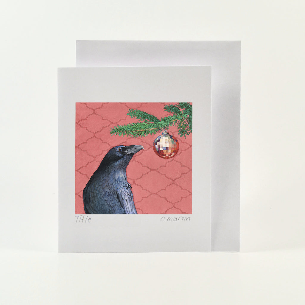 Crow's First Christmas - Wholesale Art Cards