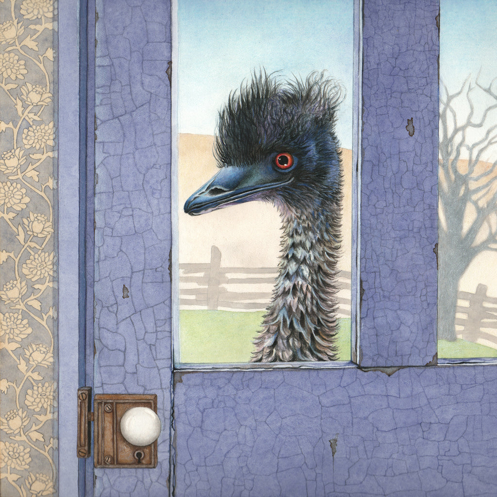 Emu at the Blue Door