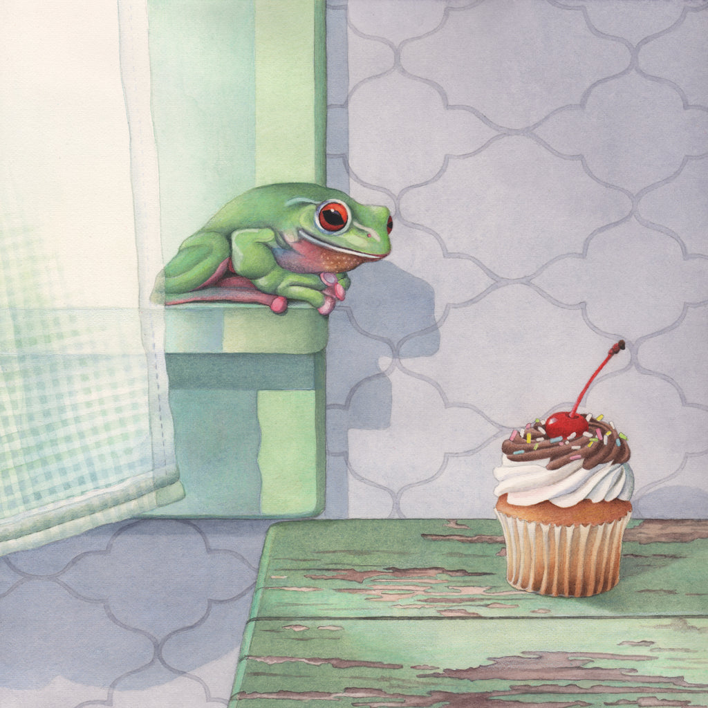 Frog Covets Cupcake