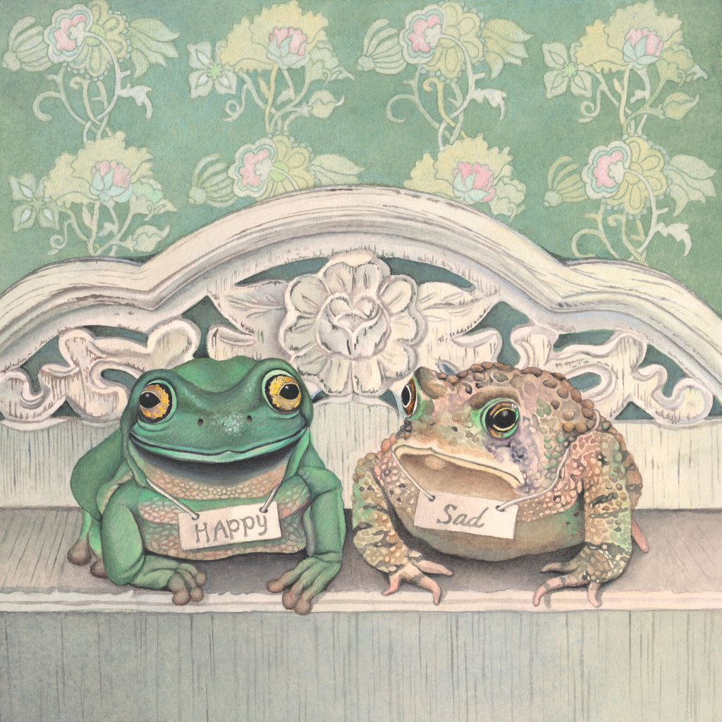 Frogs are Happy, Toads are Sad