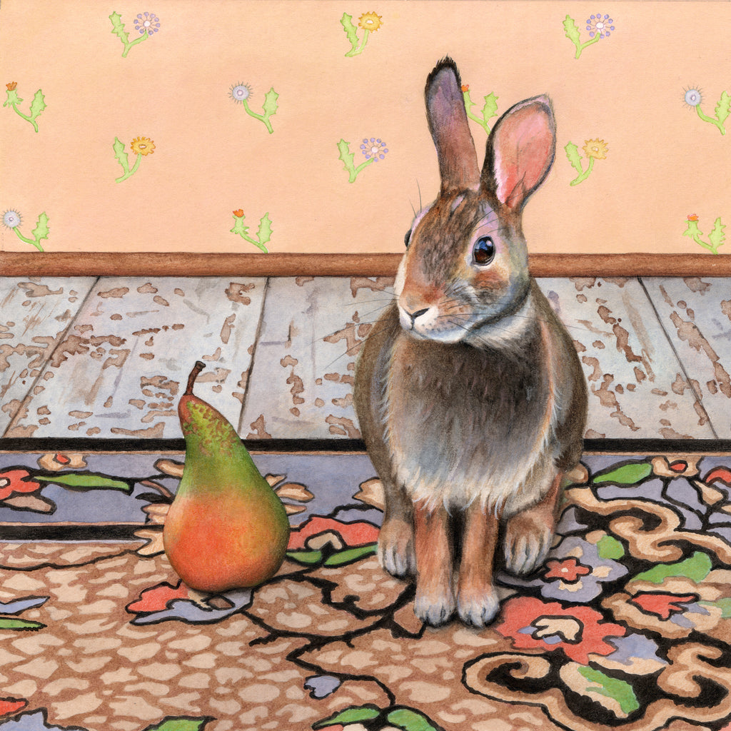 Hare Meets Pear - Gallery