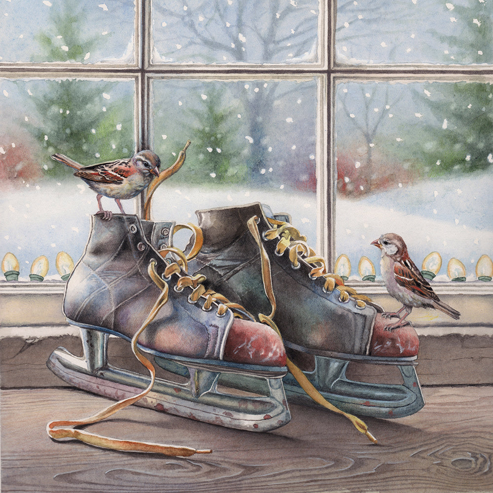 Lacing Up- Winter and Christmas- Gallery
