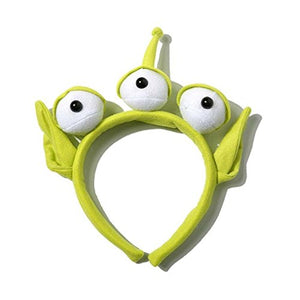 VANVENE 1 pcs Novelty New Toy Story Alien EARS  COSTUME Plush HEADBAND ADULT OR  CHILD Party Cosplay Gift