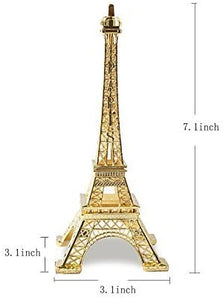VANVENE Eiffel Tower Decor for Cake Topper,Gifts,Party and Home Decoration