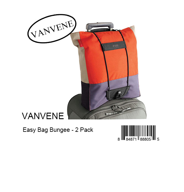 VANVENE Easy Bag Bungee - 2 Pack