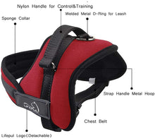 VANVENE No Pull Dog Vest Harness - Dog Body  Padded Vest - Comfort Control for Large  Dogs in Training Walking - No More Pulling,  Tugging or Choking