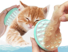 VANVENE Soft Silicone Pet Grooming Brush  Washable Cat Grooming Shedding  Massage No Scratching and Comfortable