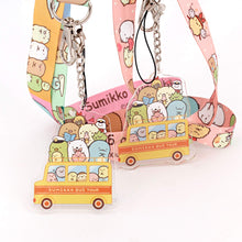 VANVENE Cute Lanyard with ID Badge Holder - Cartoon  Animal Key Lanyard - ID Badge Holder Lanyard  with Metal Hook and Charm Pendant for Women  Girls Kids (Pink)