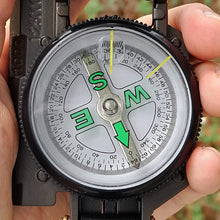 VANVENE Eaggle Multifunctional Military Compass, Amy Green, Waterproof and Shakeproof, Compass for Outdoor, Camping, Hiking, Military Usage, Gifts