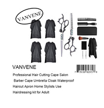 VANVENE Professional Hair Cutting Cape Salon  Barber Cape Umbrella Cloak Waterproof  Haircut Apron Home Stylists Use  Hairdressing kit for Adult