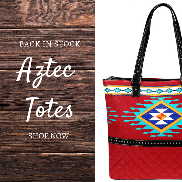 Aztec Totes: If it's love, don't let them go