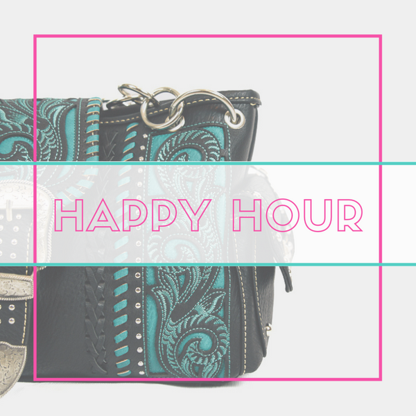 (Drum roll please) The Montana West World Happy Hour is Here!