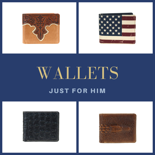 Wallets: Just for Him