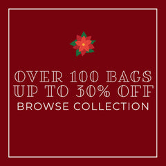 Over 100 bags up to 30% off