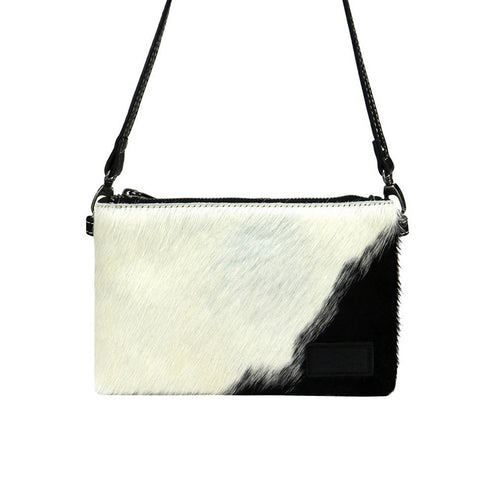 Matanzanus Hair-On Cowhide Clutch - Montana West World