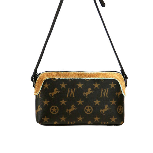 Calophaca Signature Monogram Crossbody - Montana West World