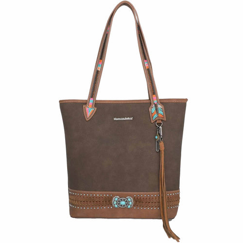 Daphniphyllum Aztec Concealed Carry Satchel - Montana West World