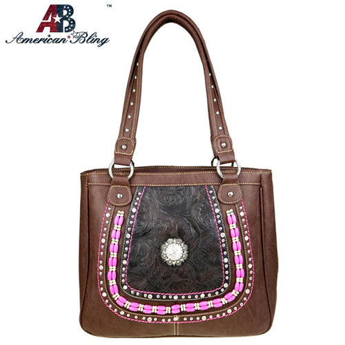 ABD-3010  American Bling Dual Sided Concealed Carry Tote Bag