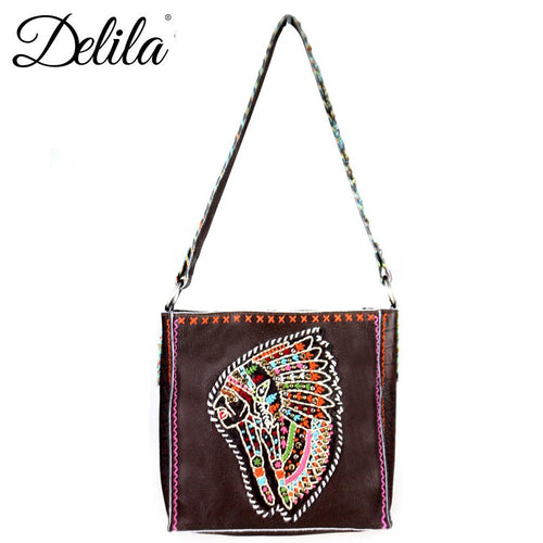 Valdezianus Embroidered Mini Tote Bag - Montana West World