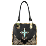 HF03-8037 Montana West Camo Collection Handbag